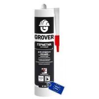 Каучуковый герметик для кровли и фасадов GROVER R100 прозрачный