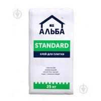 Клей для плитки Альба Стандарт 25 кг