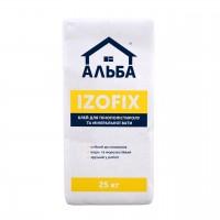 Клей приклейка ALBA  IZOFIX (мешок, 25кг)