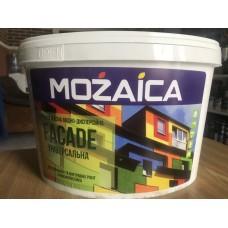 Краска фасадная 10 литров 14 кг MOZAICA