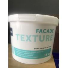 Краска структурная 10 литров 15 кг FACADE TEXTURE ALBA
