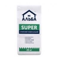 АЛЬБА SUPER, клей для плитки 25 кг