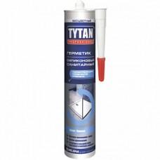Герметик Tytan  силиконовый санитарный 310 мл белый