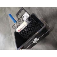 Решетка отжимная пластиковая М7 27х31 см черная