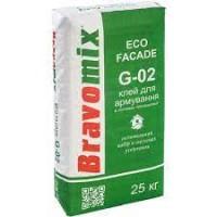 Универсальная смесь Bravomix G-02 для армировки и  приклейки теплоизоляционных плит