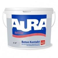 AURA Beton Kontakt 14 кг (Україна) (Адгезийна водорозвидна грунтовка)